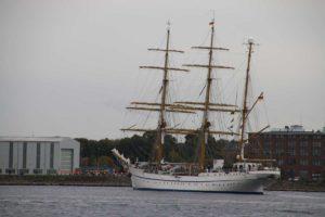 Gorch Fock Segelschulschiff Kieler Förde