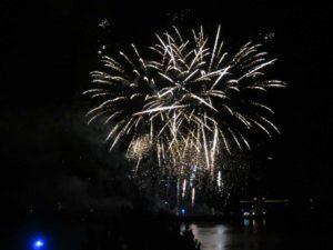 Kieler Woche Segelfeuerwerk Schilksee