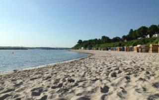 Sommer am Strand in Schilksee