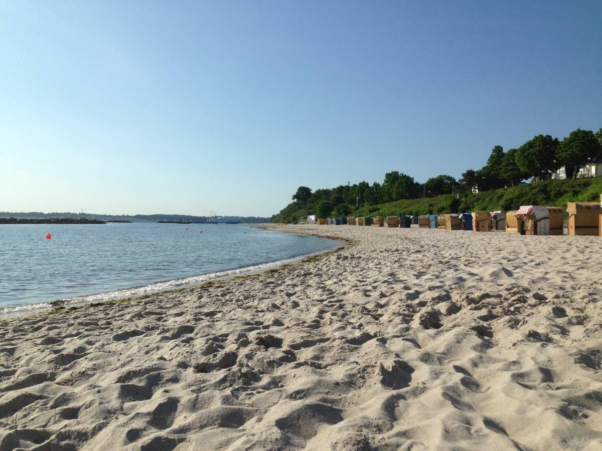 Sommer am Strand in Schilksee