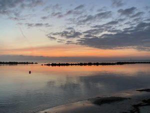 Badestrand Schilksee Sonnenaufgang