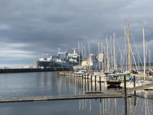 Sportboothafen Wik am Marinestützpunkt Kiel