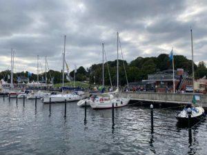 Sporthafen Kiel-Reventlou Kieler Förde Kiellinie