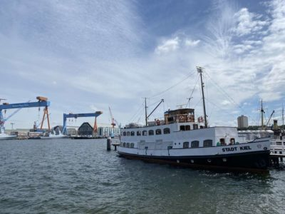MS Stadt Kiel Seegartenbrücke