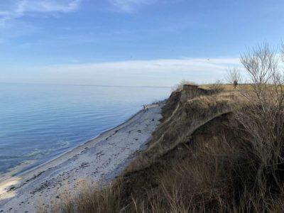 Ostsee Steilküste Dänisch-Nienhof Abbruchkante