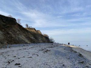 Ostsee Steilküste Dänisch-Nienhof Strandspaziergang