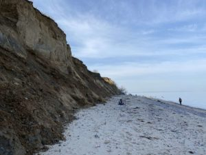 Ostsee Steilküste Dänisch-Nienhof nördlich von Kiel