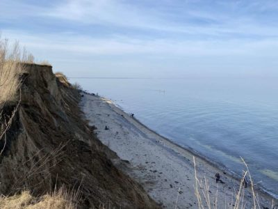 Ostsee Steilküste Dänisch-Nienhof in Schleswig-Holstein