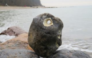 Hühnergott an der Ostsee
