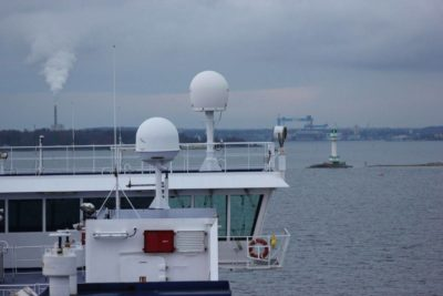Stena Line Fähre Ankunft in Kiel