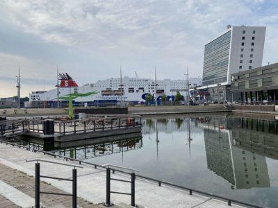 Stena Line am Bootshafen Kiel