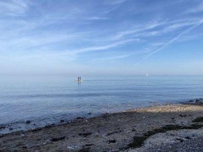 Stand Up Paddling Dänisch-Nienhof Ostsee