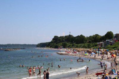 Schilksee Strand Badesaison