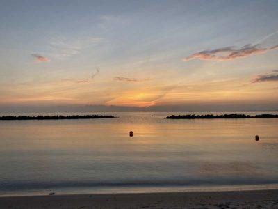Sonnenaufgang Strand Kiel-Schilksee