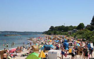 Strand Schilksee Kieler Förde