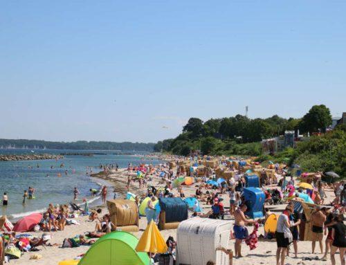 Sommer in Kiel: Stände an der Kieler Förde und Ostseestrände rund um die Landeshauptstadt