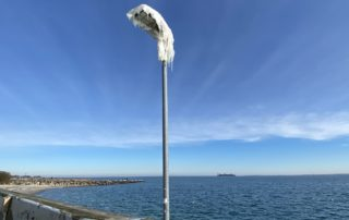 Laterne mit Eis Ostseebad Strande