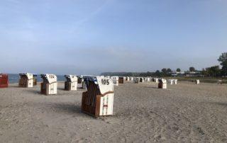 Strandkörbe am Surendorfer Strand