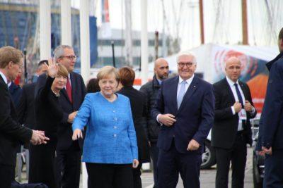 Angela Merkel & Frank-Walter Steinmeier Kiel Tag der Einheit 2019