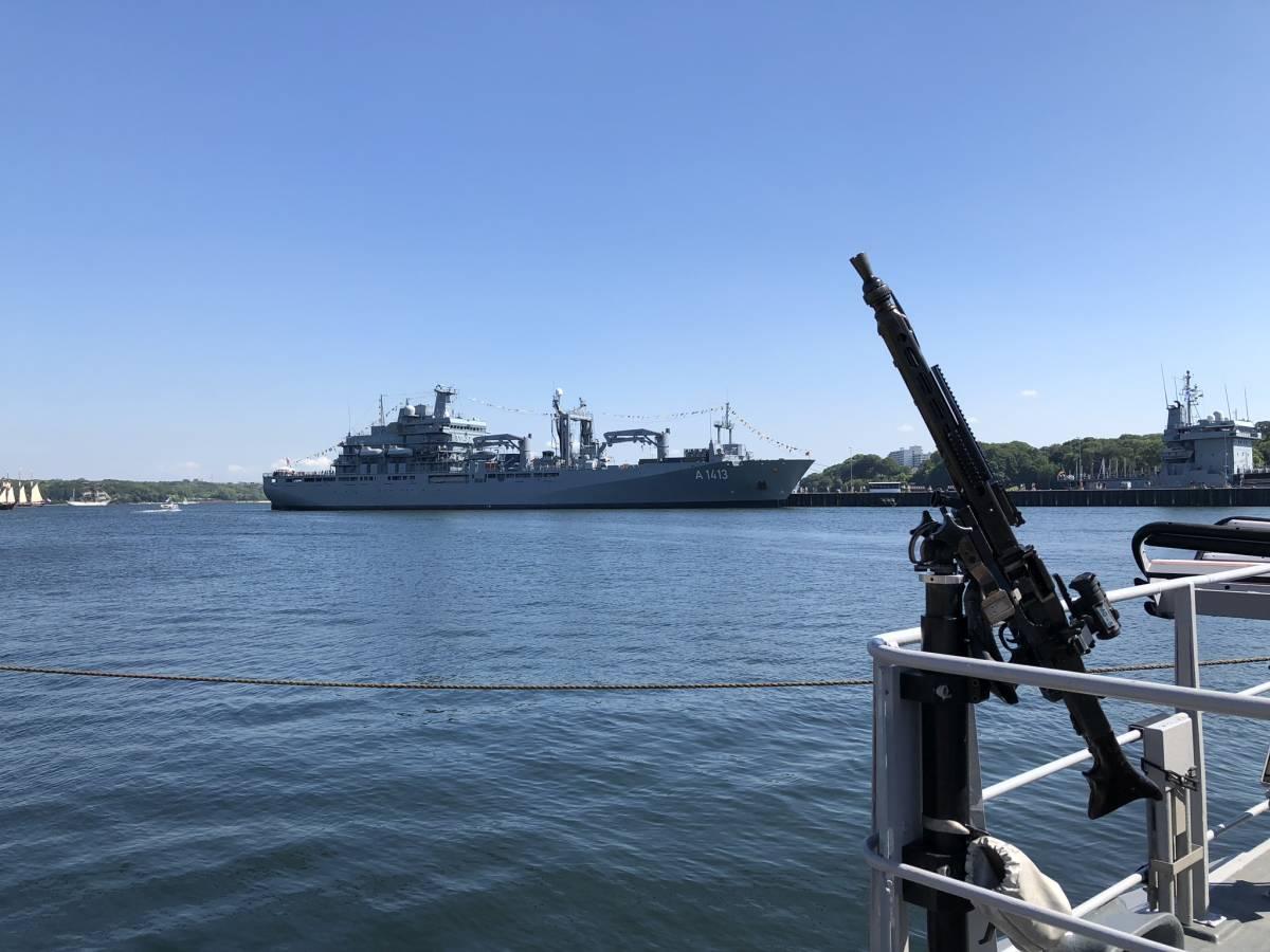 Open Ship Tirpitzhafen Kiel