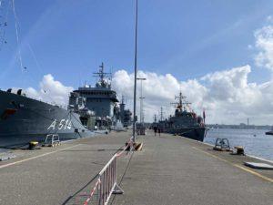 Kieler Woche Open Ship 2021 Gorch-Fock-Mole Kiel