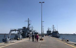 Tirpitzmole im Tirpitzhafen beim Open Ship 2019