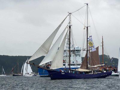 Twister Segelschiff Windjammerparade Kiel 2021