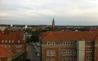 Über den Dächern von Kiel