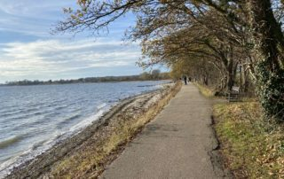 Wanderweg von Strande nach Bülk an der Ostsee