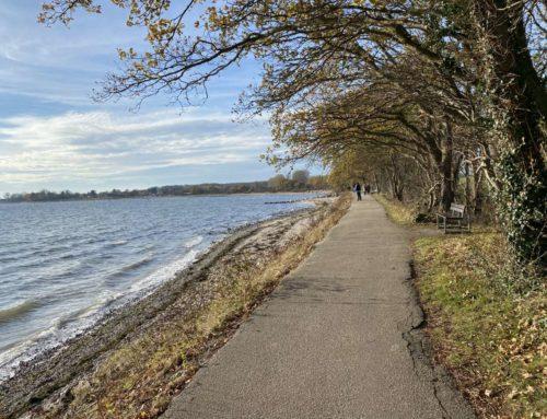 Herbstspaziergang in Strande und Bülk an der Ostsee