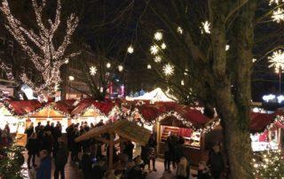 Weihnachtsmarkt Kiel Holstenplatz 2019