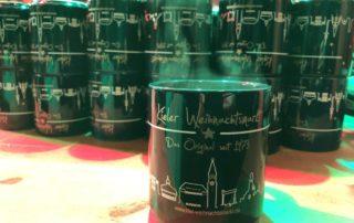 Glühweintasse Kieler Weihnachtsmarkt
