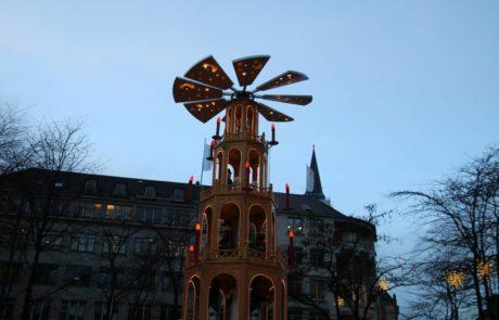 Weihnachtspyramide Kiel Asmus-Bremer-Platz