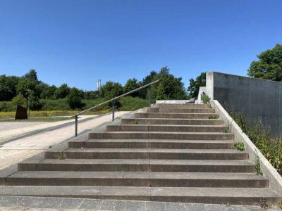 Wiker Balkon Schleusenpark Kiel