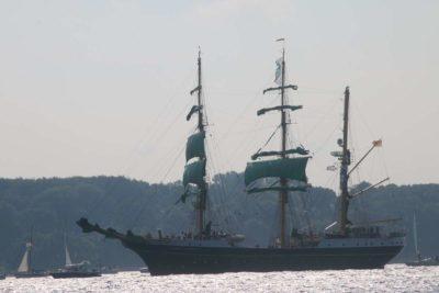 Alexander von Humboldt II Windjammerparade 2020 Kieler Förde
