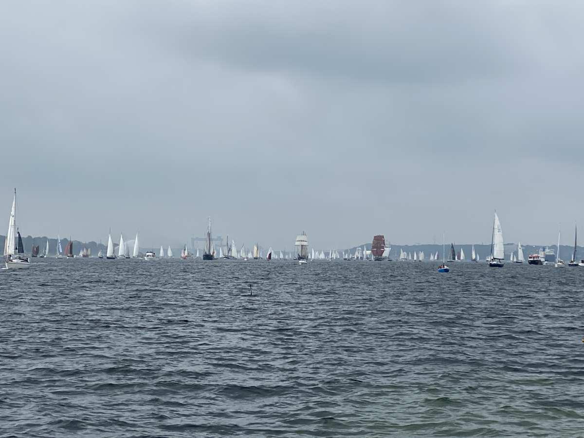 Windjammerparade 2021 Segelschiffe Kieler Förde