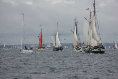 Segelschiffe Windjammerparade 2013 Kieler Förde