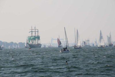Windjammerparade 2020 Führungsschiff Alexander von Humboldt II