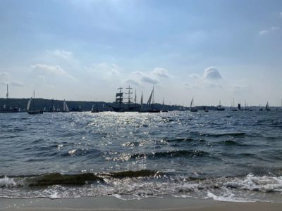 Windjammer Parade 2020 Schiffe in der Förde