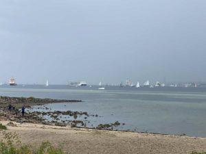Windjammerparade 2021 Schiffe in der Förde