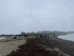 Windjammerparade 2021 Regen Falckensteiner Strand
