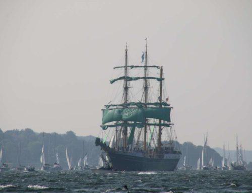Segelschiff Alexander von Humboldt II führt Windjammerparade 2021 an
