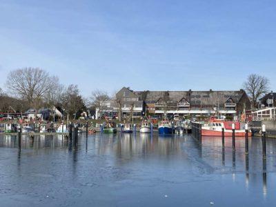 Hafen Ostseebad Strande Winter Februar 2021