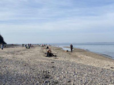 Strand Dänisch-Nienhof Winter Wochenende 21.02.2021