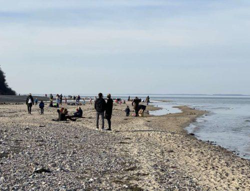 Besucheransturm an den Ostseestränden am Wochenende