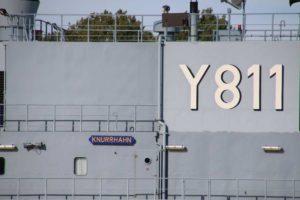 Y 811 Knurrhahn Wohnschiff Deutsche Marine